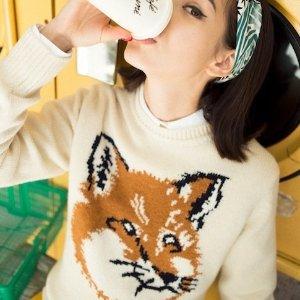 8.5折 小狐狸T恤$91Maison Kitsuné 小狐狸服饰 Jennie也爱的趣味与新潮