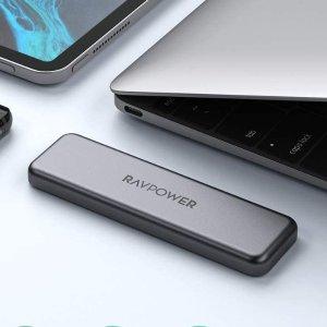 优惠价€85.99收512GBRAVPower SSD 最受年轻人欢迎的固态硬盘 超高颜值小巧便携