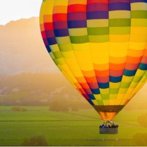 From $143.2Hot Air Balloon Ride with Champagne In Sonoma Valley