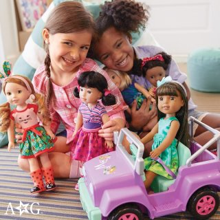 享8折+3倍积分 娃娃难得都参加American Girl美国娃娃官网 周末热卖,满额包邮
