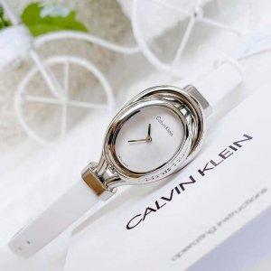 低至1.3折+额外8.8折+包邮补货:Calvin Klein 腕表特卖,独特方表$35