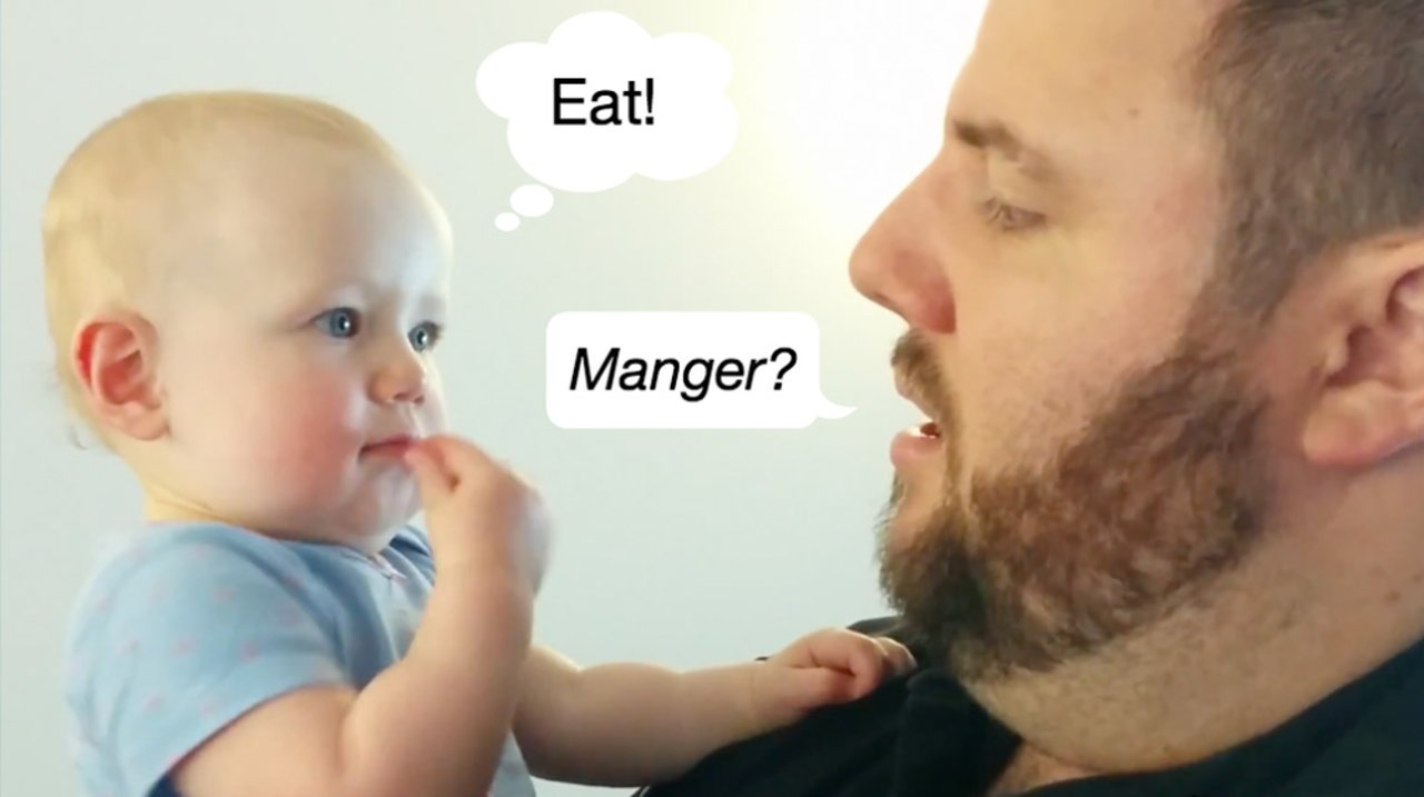 婴儿手语:让宝宝早开口说话和提高IQ的父母必学绝招!