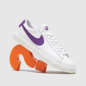 Nike王一博类似款Blazer低帮 紫色