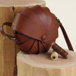 最高享8折 封面款$453MIRTA 意大利顶级工匠包袋大促 高质感小众品牌