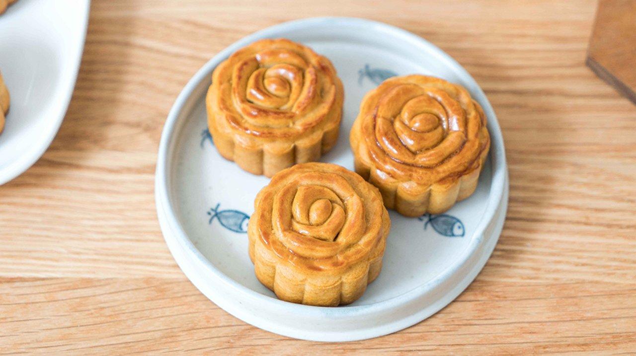 自己动手做广式月饼,简单经典的美味,中秋终于圆满了!