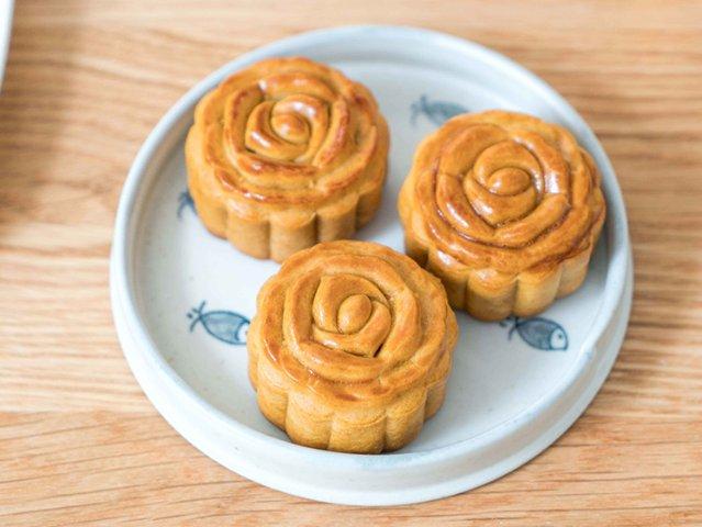 自己动手做广式月饼,简单经典的美味...