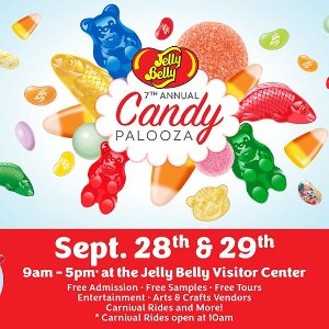 Free Admission Free SamplesJelly Belly Candy PALOOZA