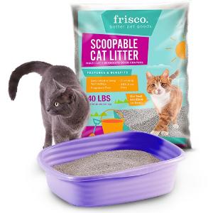 全场首单7折Frisco 除臭结团猫砂折上折促销