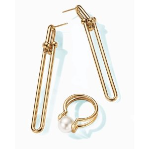 Tiffany HardWear Double Long Link Earrings