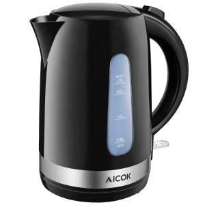 现价£18.69(原价£59.99)手慢无:Aicok 1.7L 电热水壶限时折扣