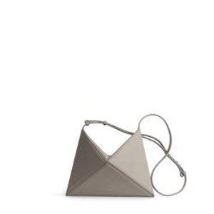 几何单肩包