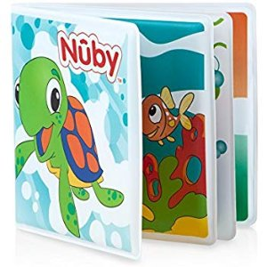 Amazon.com : Nuby Bath Book : Baby
