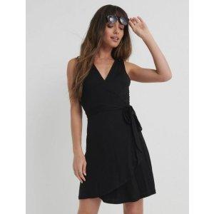 Lucky Brand JeansMini Wrap Dress | Lucky Brand