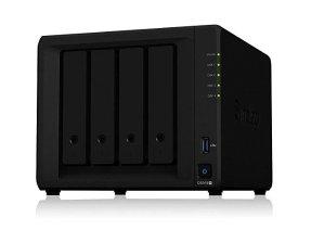限时好价¥3404Synology 群晖 DS918+ 四盘位NAS网络存储服务器