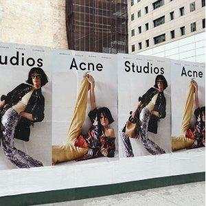 3折起+额外8折 €55收印花上衣折扣升级:Acne Studios 折扣区冰点价 超多围巾、卫衣上新 北欧风美衣现在收最超值