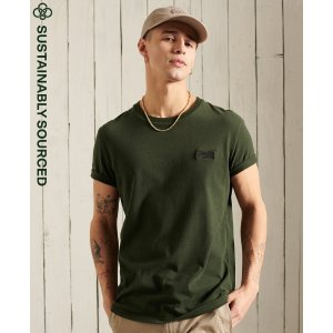 Superdry3 For $50Organic Cotton Vintage Embroidered T-Shirt