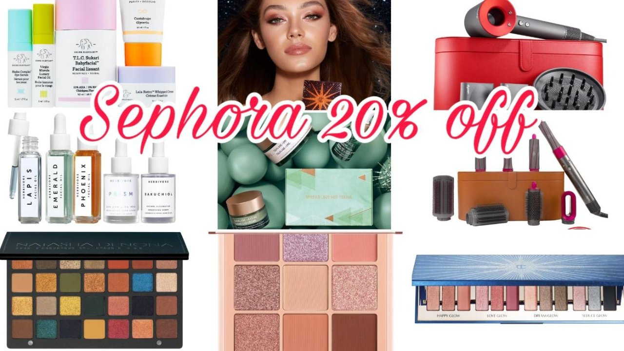 吐血整理|Sephora 丝芙兰2019年终大促,这150+个新品/套组为你的购物车添砖加瓦(护肤/彩妆/发品)