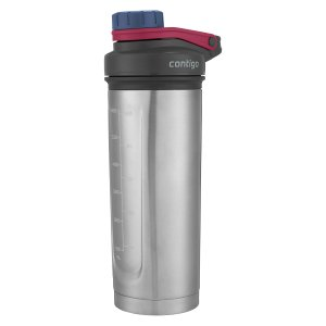 Contigo 24 Ounce Shake & Go Fit Thermalock Vacuum Insulated Stainless Steel Shaker Bottler