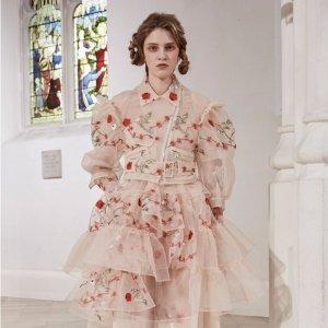 1.7折起 蕾丝T恤£150Simone Rocha 浪漫主义美衣大促 绝美仙女裙、首饰清仓热卖