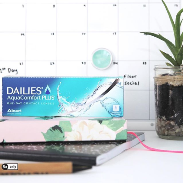 Focus Dailies Aqua 水感透明日抛隐形眼镜 30片