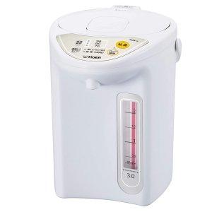 包税直邮$137(TheBay$169)Tiger 虎牌 真空保温电热水壶 3L容量 微电脑控制 安全方便