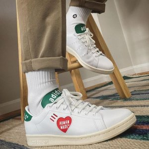 低至2.7折起 Stansmith联名款£60收adidas 潮流运动服饰、鞋履超值热卖 联名款限时超低价