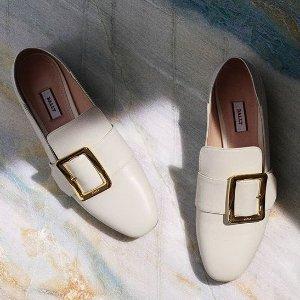 低至6折+额外8折 明星都在穿Bally 方扣美鞋热卖 气质女生必备