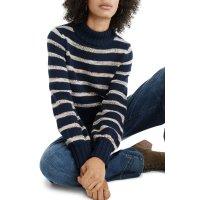 Madewell 条纹针织毛衣