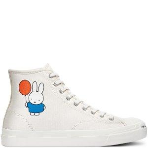 Converse仅剩42.5/44/46码Pop Trading Company  高帮帆布鞋