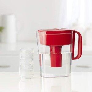 $13.99 (原价$19.99)闪购:Brita 碧然德5杯容量滤水壶,带滤芯