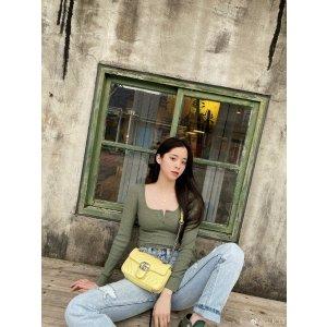 Gucci欧阳娜娜同款GG Marmont Super 迷你链条包
