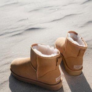 低至3折 蝴蝶结靴仅£97UGG 罕见折扣大促 跨年之际的清仓大卖 不容错过