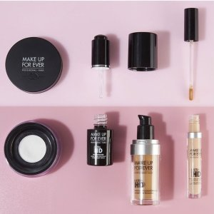 25% Off + Up to 4-piece Free GiftLast Day: Make Up For Ever Double's Day Offer