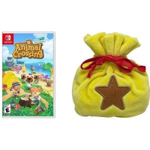 《动物森友会》Switch 实体版 + 玲钱袋周边