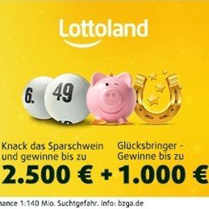 只要€1.5 赢2300万欧元大奖今晚开奖 2注Lotto 49选6+10次小猪刮刮乐+10 horseshoe