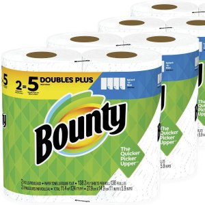 Bounty 超强韧吸水厨房纸巾 8卷