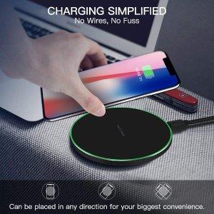 €19.99 (原价€39.99)Limxems 无线快速充电器 适合iPhone、三星等大部分手机