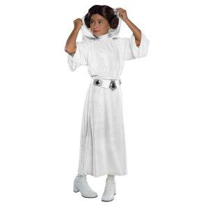 现价$35.40(原价$49.58) 免邮限今天:Rubies Costume 星球大战 莱娅公主装 万圣节装扮必备