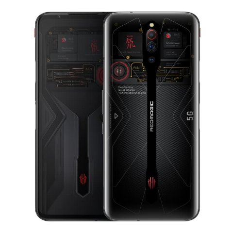 $811.00Nubia Red Devils 5G gaming phone (865, 12GB, 256GB, 144Hz)