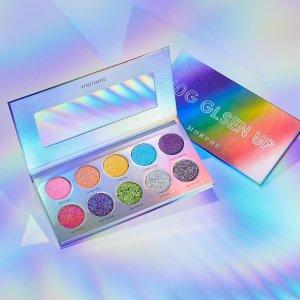 低至5折Morphe 精选彩妆促销 收35O网红眼影盘、夏日彩虹盘