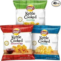 Lay's Kettle 薯片3口味混合装 40袋