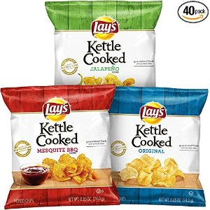 Kettle 轻薄薯片零食礼盒  40包入