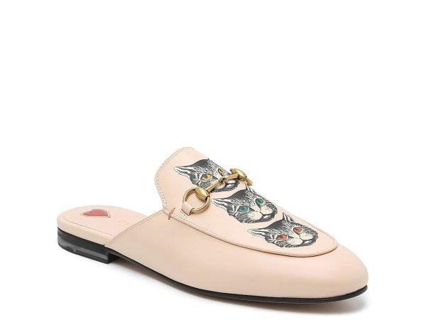 女士猫咪穆勒鞋