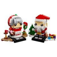 Lego 方头仔系列 圣诞老人夫妇 - 40274