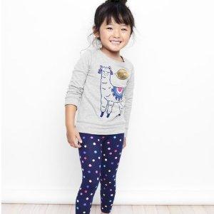 低至3.59 新款大童码也$4.97卡特家姐妹店OshKosh BGosh 儿童T恤Doorbuster优惠