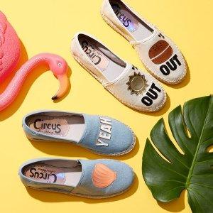 低至4折+额外最高6折 舒适与美貌并存macys.com 精选女款乐福鞋、穆勒鞋专场热卖