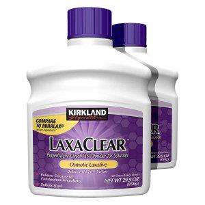 Kirkland Signature LaxaClear, 100 Doses