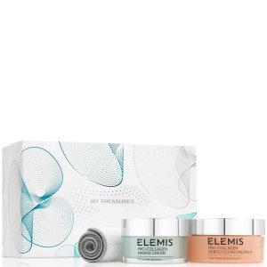 Elemis胶原卸妆保养套装 骨胶原面霜50ml+卸妆膏105g+洁面巾
