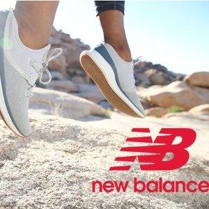 $5抵$50 / $10抵$100开挂:New Balance 官网优惠券 火热团购中
