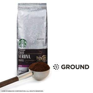 $8.48星巴克 深度烘焙 Verona 咖啡粉 20oz
